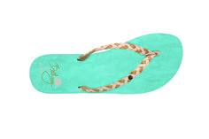 Bethany's Signature Sandal in Teal  #bethanyhamilton #flipflop
