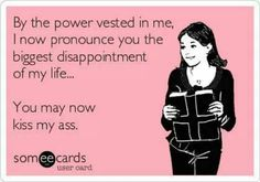 By the power vested in me
