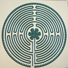 Acrylic Chartres Labyrinth