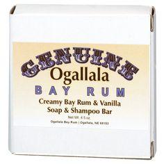 Ogallala Bay Rum: Shampoo Bar