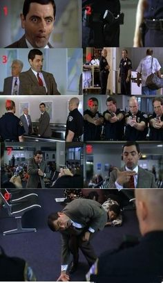Mr. Bean Trolling The Police