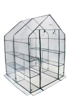 Village green basic greenhouse at big lots garden for Walk in greenhouse big lots