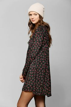 Pins And Needles Long-Sleeve Floral Dress