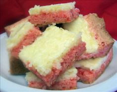 Strawberry-Cream Cheese Bars Recipe - Food.com - 130223