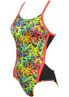 Aqua Sphere Womens Coral Swimming Costume
