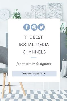 When you run an interior design business, it's really important to reach your audience through social media. But with so many platforms to choose from, which is best? Or do you need to do them all?   #interiordesign #interiorlovers #interiordesigner  #studyinteriordesign #homeinterioruk #interiordesigncommunity #interiordesignstudents #interiordesigneruk #interiordesignersuk #studyinteriordesign #marketing #branding #pricing #businessadvice #interiordesigncoach #socialmediamarketing