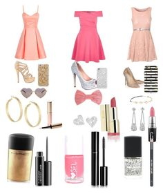 """""""Girls night out"""" by jazzyjuuldance on Polyvore featuring River Island, Glamorous, Jimmy Choo, Lauren Lorraine, Missoni, Sonix, Felony Case, Wildfox, Panacea and Vivienne Westwood"""