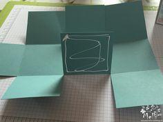 Stampin Up, Anleitung, Viereckige Box, One Sheet Box (2) (Kopie)