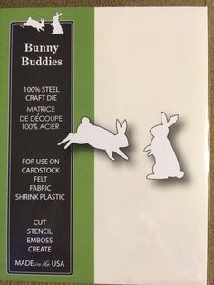 Poppystamps Bunny Buddies