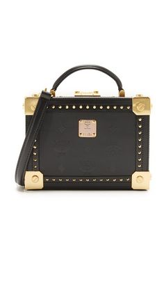 MCM Berlin Trunk Cross Body  Bag $1500 is not unnecssary Try #Recessonia