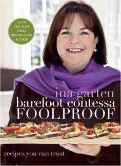 Ina Garten's Barefoot Contessa's Foolproof. #celebritychef #foodie #cookbooks