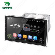 10.1'' Android 5.1 Car DVD Player GPS+Wifi+Bluetooth+ 4-core HD Foldable Screen #Kunfine