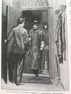 The Golden Pince-Nez, Sidney Paget, The Strand Magazine, July 1904