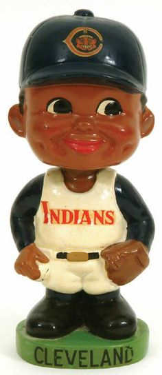 1962-66 Cleveland Indians Bobbing-Head Doll