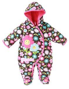 Brand new baby girl polar fleece romper 2013 winter Carters infant romper printed flower pink baby clothes kids' longsleeve wear
