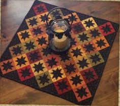 Nice Thanksgiving Quilt - Primitive Gatherings