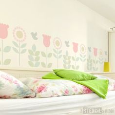Annelise Border Stencil - Buy reusable wall stencils online at The Stencil Studio