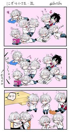 らそき@原稿 (@las9las) さんの漫画 | 173作目 | ツイコミ(仮) Rap Battle, All Anime, Cute Love, Cute Drawings, Division, Chibi, Otaku, Kawaii, Marvel