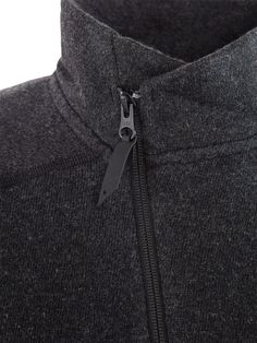 Balder Zip - Technical Mid-Layer from Recycled Wool – Weekendbee - sustainable sportswear Bald Men, Cold Day, Warm And Cozy, Sportswear, Charcoal, Layers, Wool, Zip, Jackets