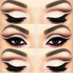 Beautiful cut crease makeup: Pinterest: @stylexpert