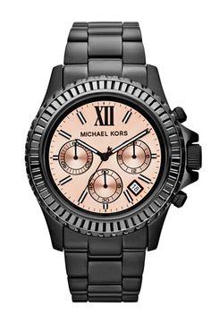 Michael Kors 'Everest' Baguette Crystal Bezel Bracelet Watch, 41mm available at #Nordstrom