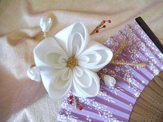 Ume (Plum Blossom) Kanzashi