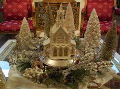 Christmas/Holiday table decoration