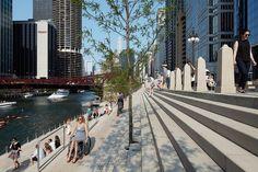 Gallery of Chicago Riverwalk / Chicago Department of Transportation - 10