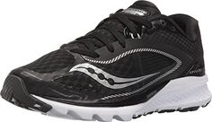 Saucony Women's Kinvara 7 Running Shoes (8.5 B(M) US, Black/White) ** You can get additional details at the image link.