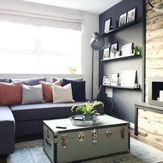Ikea friheten sofa - Instagram - @jtcollings