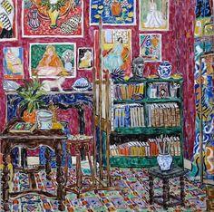 Matisses studio Vence - Damian Elwes