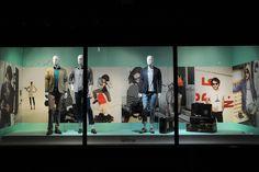 Galeries Lafayette windows, Paris visual merchandising