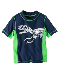 Toddler Boy Carter's Dinosaur Rashguard from Carters.com. Shop clothing & accessories from a trusted name in kids, toddlers, and baby clothes.