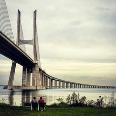Good Morning  Vasco da Gama Bridge  Lisbon - Portugal 🍁🌟🍁🌟🍁🌟🍁🌟🍁 #vascodagamabridge #lisbon #Portugal  #lisboncool #lisbonforever  #lisbonlovers #igerslisbon #bestlisbon #loves_lisboa  #super_lisboa #amar_lisboa  #toplisbonphoto #super_portugal  #amar_portugal #ok_portugal  #anonymous_pt #loves_portugal  #portugal_lovers #portugal_vision  #ig_portugal_ #visitlisbon #beautiful #discover #beautifuldestinations  #estaes_portugal #portugal_de_sonho