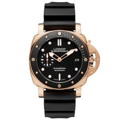Panerai, submersible rosegold! 43 mm, 3 days automatic movement, Priced at 27k USD. Sucha beauty 😍