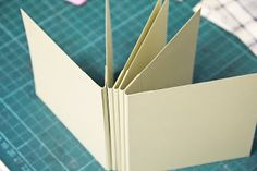 www.paperbasics.de: Una Libro mini tutorial ...
