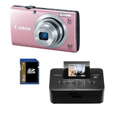 Canon PowerShot A2400 IS (Pink) 16.0 MP Digital Camera Bundle with Canon SELPHY CP900 Black Wireless Photo Printer & 8 GB SD Card by Canon. $249.00. With the sleek and stylish PowerShot A2400 IS digital camera, capturing images the way you see them is easy. Smart AUTO intelligentlyCanon PowerShot A2400 IS at Amazon.com selects the proper camera settings based on 32 predefined shooting situations, and Intelligent IS automatically optimizes image stabilization, so every t...