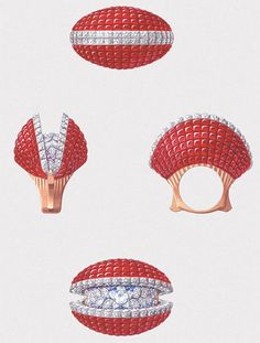 Van Cleef & Arpels' New 'Seven Seas' Collection with Mechanical Treasure Shells