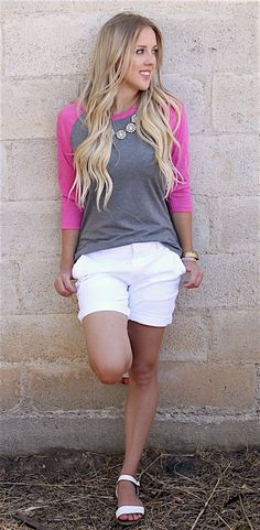 This is the perfect Raglan! It is so easy and effortless and its trip-blend material makes it so soft. It is available in 7 different color options.