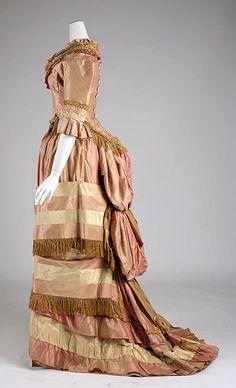 Dress  Date: 1877–79 Culture: American Medium: silk