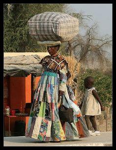 the fabulous Herero people