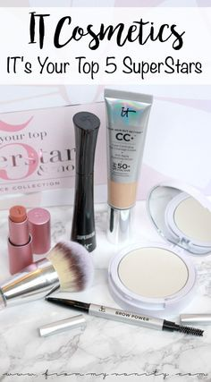 NEW IT Cosmetics & QVC TSV | IT's Your Top 5 Superstars & More Skin Perfecting Collection | QVC's Today's Special Value | IT Cosmetics Holiday Value Set | Gift Set