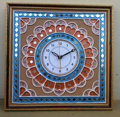 Diwali Craft, Mirror Wall Art, Art N Craft, Traditional Paintings, Button Art, Rangoli Designs, Mural Art, Paintings For Sale, Indian Art