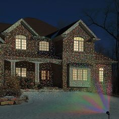 The virtual christmas lights this is the outdoor projector that virtual christmas lights 96 mozeypictures Gallery