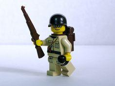 ww2 lego guy holding gernade