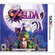 Legend of Zelda: Majora's Mask. By far one of the most stressful games I have ever played, with its time constraints and threat of impending doom from a terrifying moon, but also really, really cool in terms of storyline. Leaves off where Ocarina of Time ended.