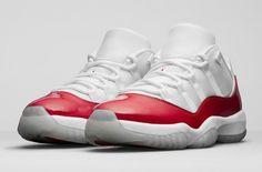 Official Images Of The Air Jordan 11 Low Varsity Red http://SneakersCartel.com #sneakers #shoes #kicks #jordan #lebron #nba #nike #adidas #reebok #airjordan #sneakerhead #fashion #sneakerscartel