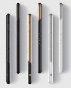 Details we like /  SVPER phone ID / UI/ smartphone/ Metal / Contrast / Sleek / at nowyproduct