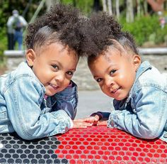 Alexis and Ava twins #McClure