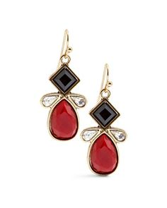 Chico's Carly Red Drop Earring